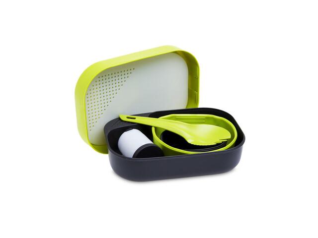 Wildo Camp-a-box - Vaisselle - jaune/noir